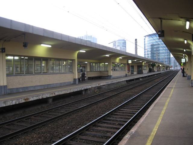 Brussels train station