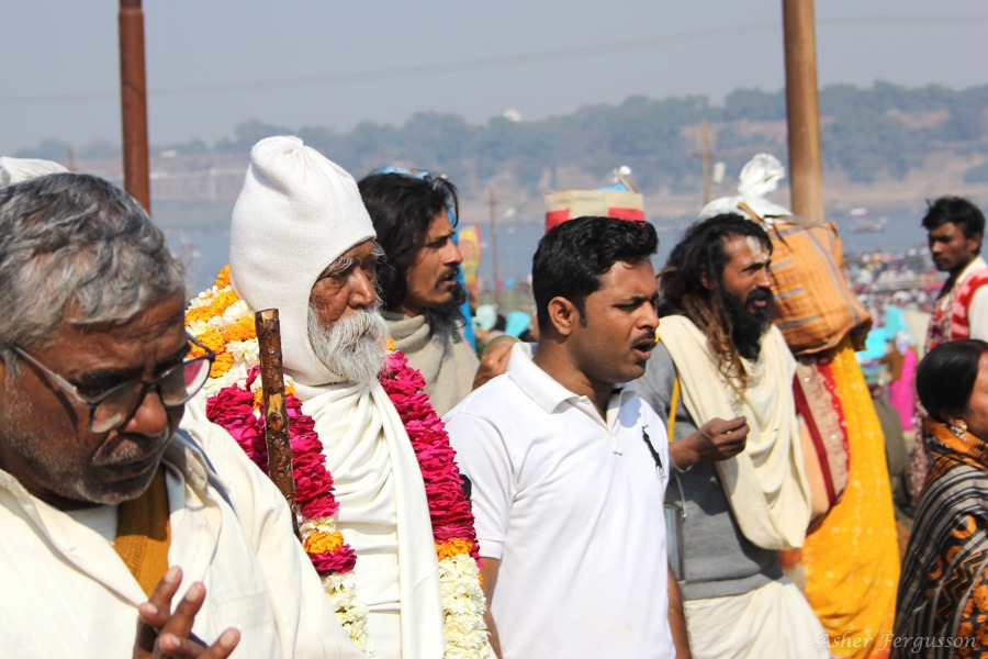 Group of holy men India