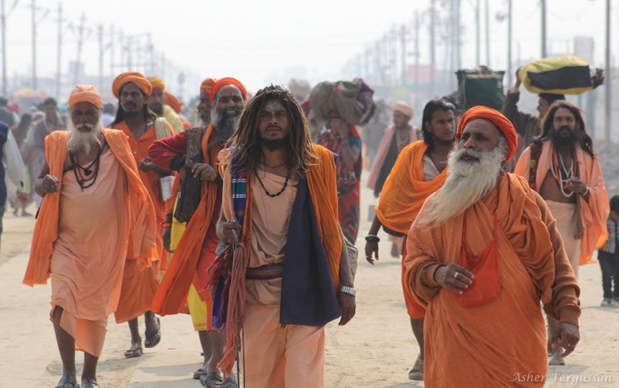 Sadhus of all ages