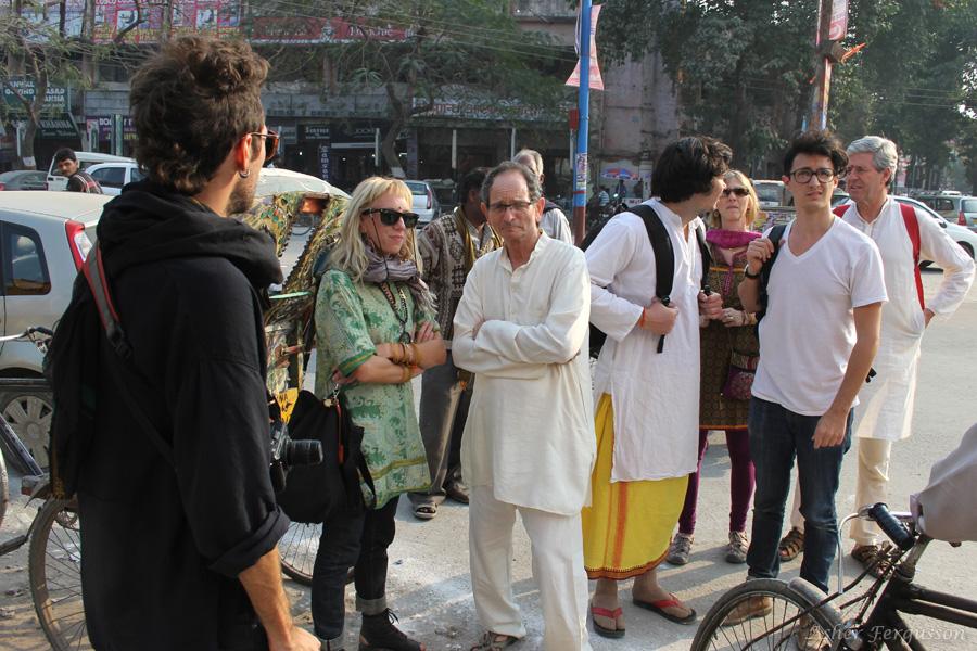 Fairfield, Iowa people in India Kumbha Mela