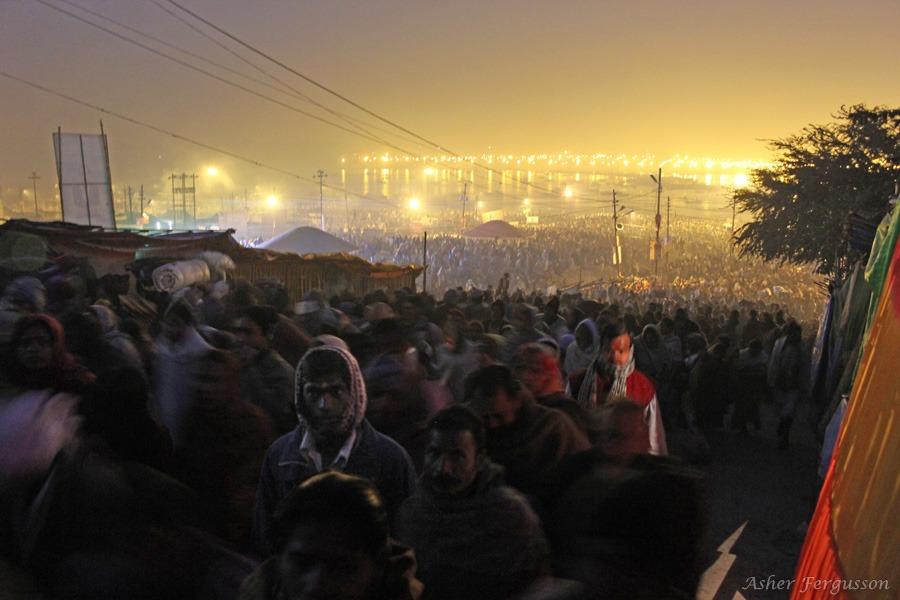 Millions At the Kumbha Mela